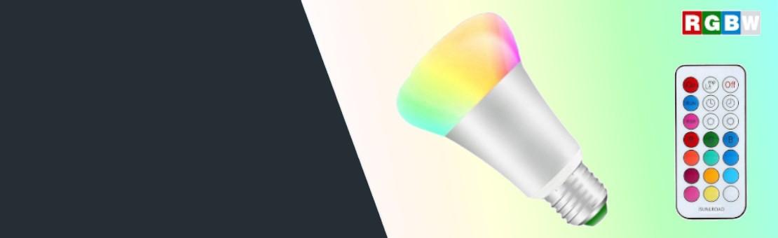 Ampoule LED RGBW